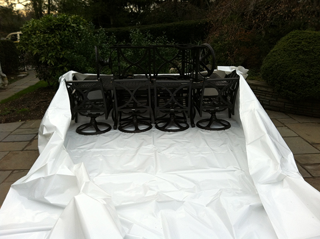 Long Island Ny Outdoor Furniture Shrink Wrap Cleaning